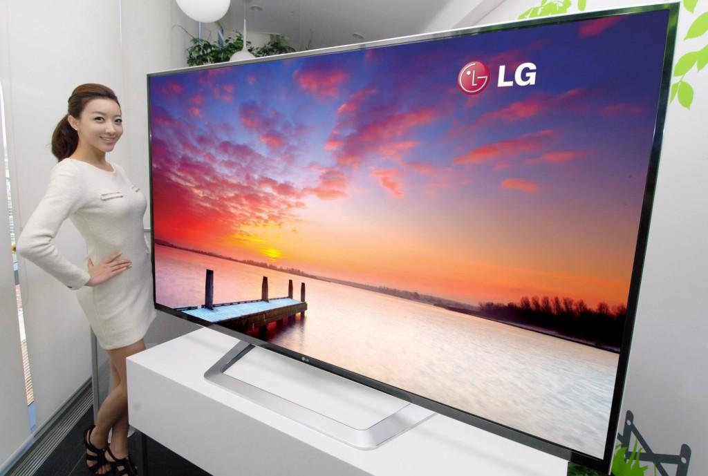 Stunning LG 4K 84 inch UHDTV